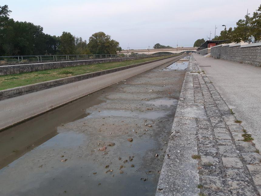 Le pompage de la Loire se terminera le 23 septembre.
