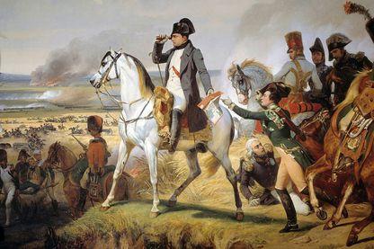 La bataille de Wagram, le 6juillet1809 par Horace Vernet