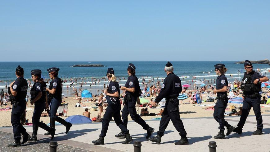 Plus de 13.000 policiers et gendarmes sont mobilisés à Biarritz ce week-end.