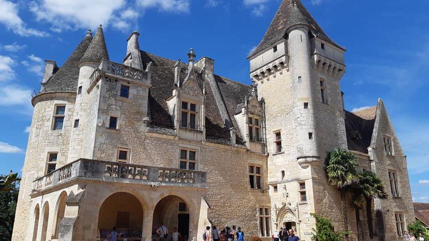 Le château des Milandes à Castelnaud
