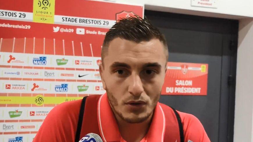Brendan Chardonnet, après le match contre Reims