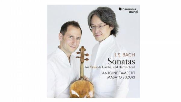 Les trois sonates pour viole et clavecin de Bach par Antoine Tamestit et son complice Masato Suzuki