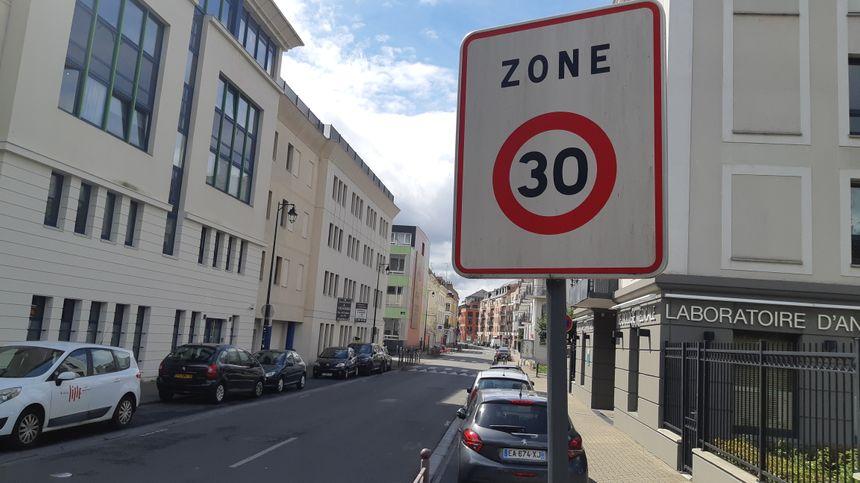 44% des rues de Lille sont déjà à 30 km/h comme ici, dans le Vieux-Lille