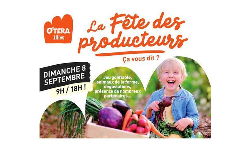 Un caddie de 100€ à gagner cette semaine, offert par O'TERA Illies à l'occasion de la Fête des producteurs le dimanche 08 septembre