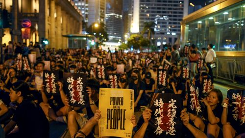 Week-end crucial pour les manifestants à Hong-Kong