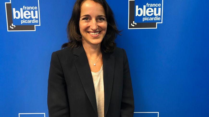 Stéphanie Dameron, rectrice de l'Académie d'Amiens
