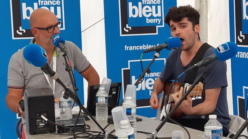 Valentin en direct sur France Bleu Berry