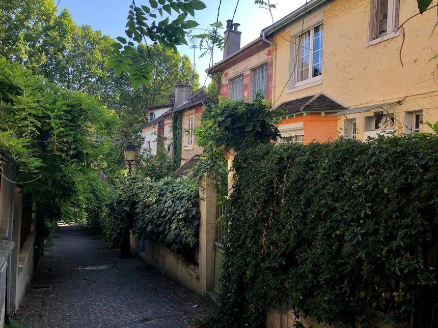 Le quartier de la Mouzaïa, dans le 19e arrondissment de Paris