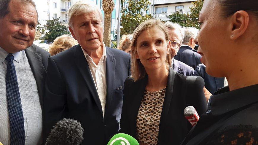 Agnès Pannier-Runacher rencontre les commerçants biarrots