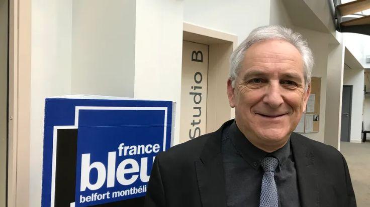 Charles Demouge, président de Pays de Montbéliard Agglomération et maire de Fesches-le-Châtel