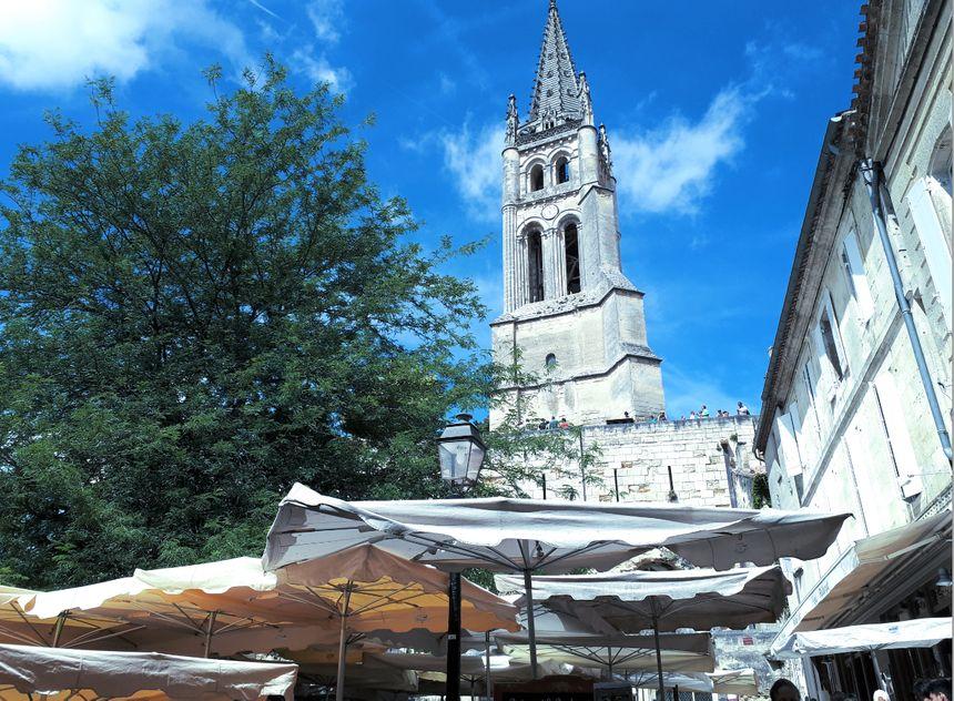 Visite guidée de Saint-Emilion.