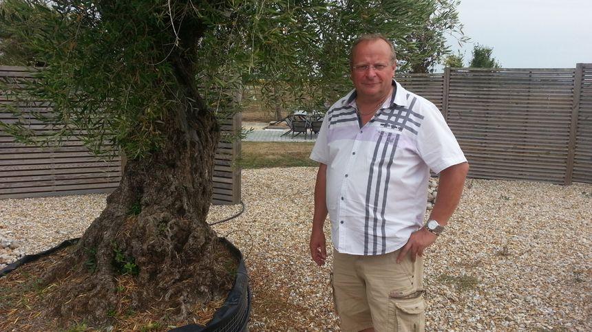 Jean-Michel Bertaux, membre du bureau de l'association nationale des entreprises du paysage (UNEP)