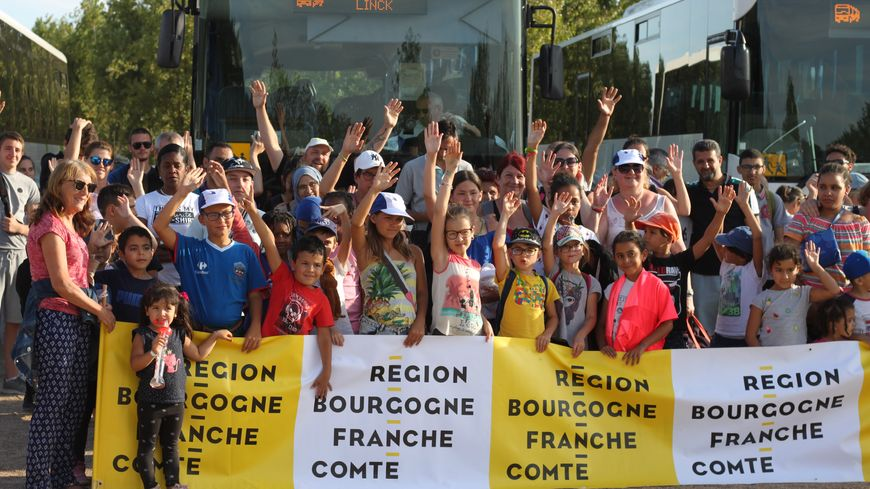 Environ 300 Côte-d'oriens sont partis au parc du Pal avec le Secours populaire.