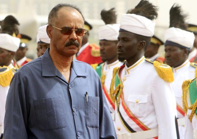 Isaias Afwerki est le président de l'État  érythréen depuis son indépendance en 1993.