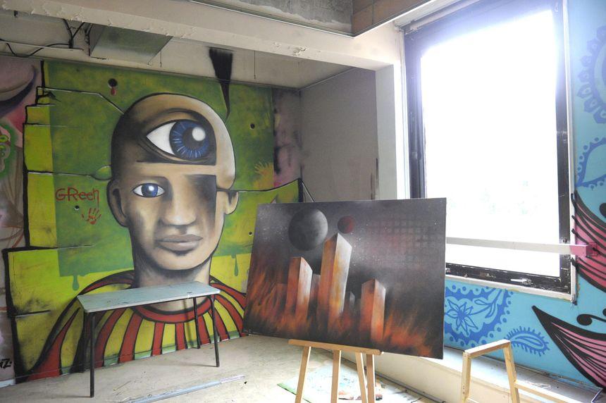 Street Art City à Lurcy-Lévis dans l'Allier