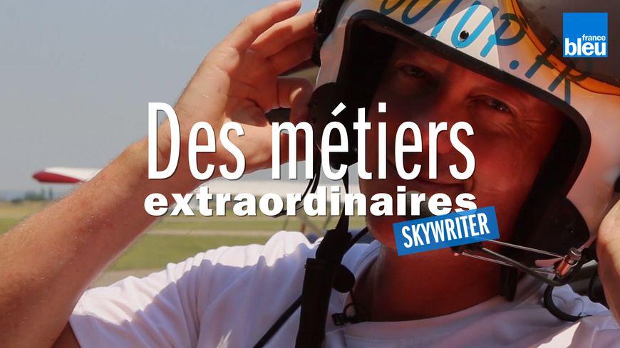 Walter est skywriter en Rhône-Alpes et partout dans le monde