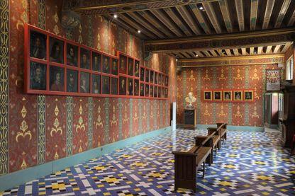 Château de Blois: La galerie de la Reine