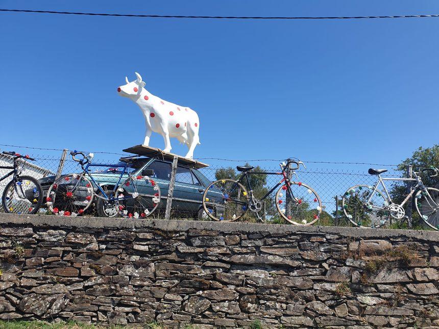 Tout le monde suit le Tour du Limousin, même les limousines !