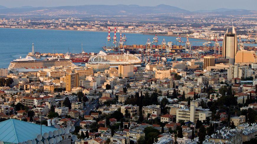 La ville d'Haïfa en Israël.