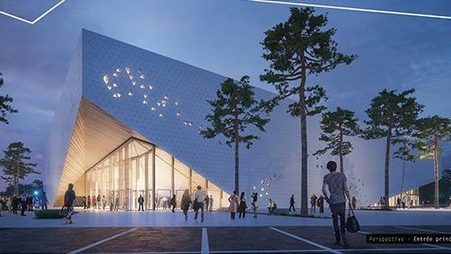 La future Arena Futuroscope en image de synthèse !