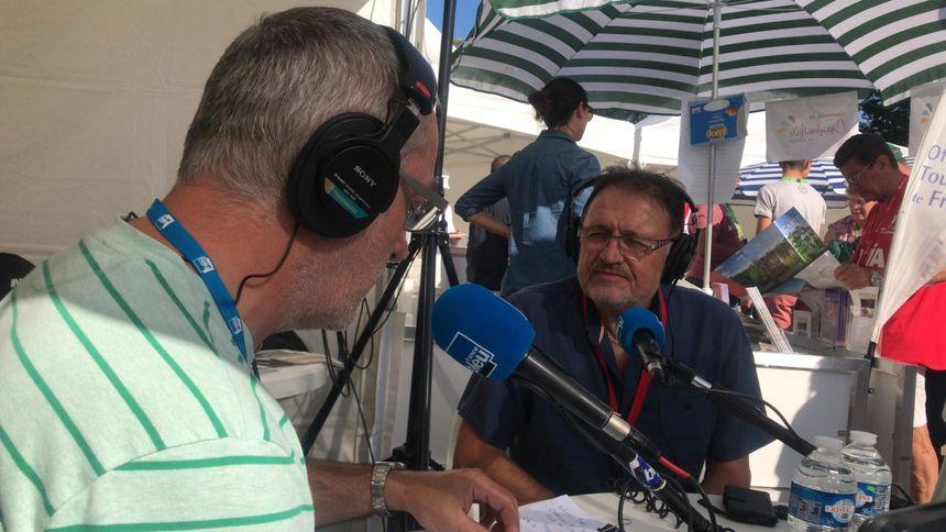 Noël Martinie, le maire de Chamoulive qui accueille le départ de cette 3e étape du Tour du Limousin ce vendredi.