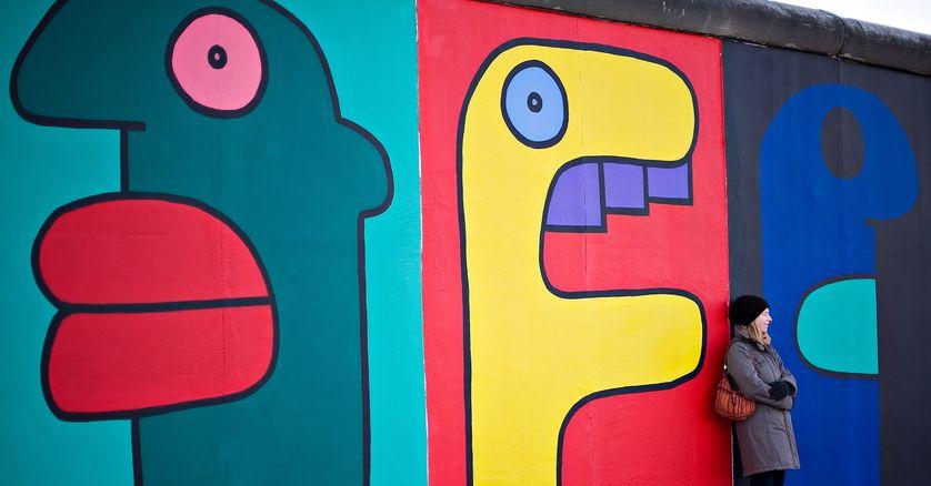 Le Mur De Berlin Embleme Du Border Art