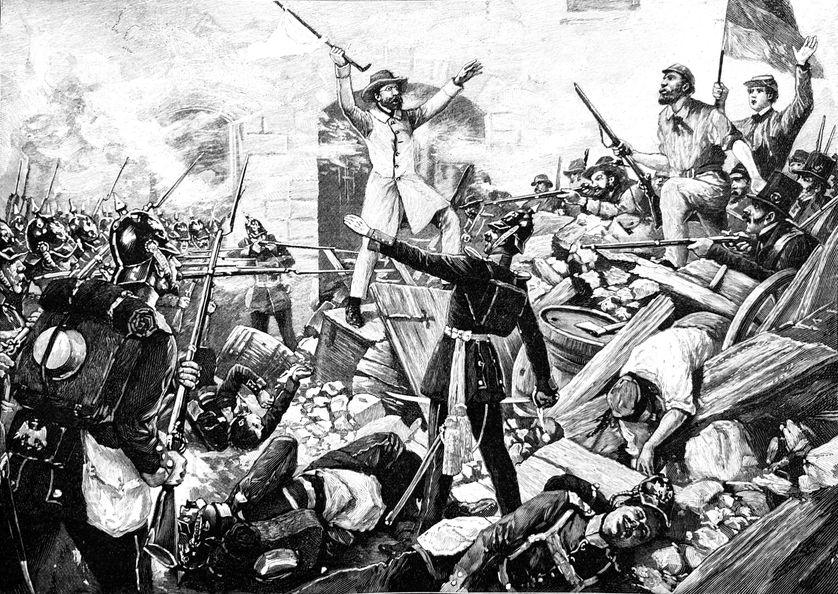 """Le """"Printemps des peuples"""", loin d'aboutir à une révolution qui met fin à la lutte des classes, voit l'instauration de la Seconde République, qui prendra fin peu de temps suite au coup d'Etat"""