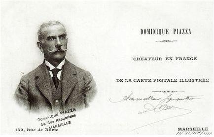 Dominique Piazza, créateur de la carte postale illustrée en 1891