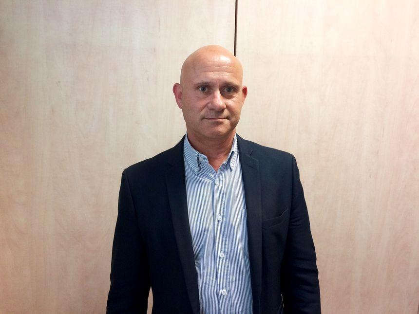 Gilles Delepeau, maire de Brazey-en-Plaine