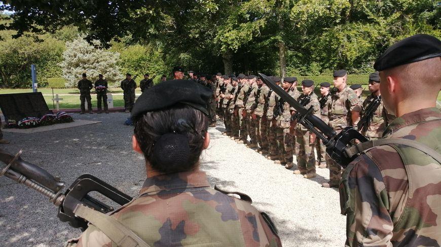 L'histoire du 501e régiment de chars de combats fait partie de l'enseignement reçu par les nouvelles recrues