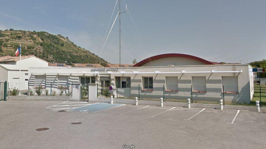 La caserne de gendarmerie de Tournon-sur-Rhône