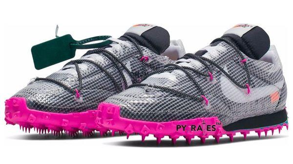 most popular lace up in best loved Les Off-White x Nike Waffle Racer devraient sortir en septembre