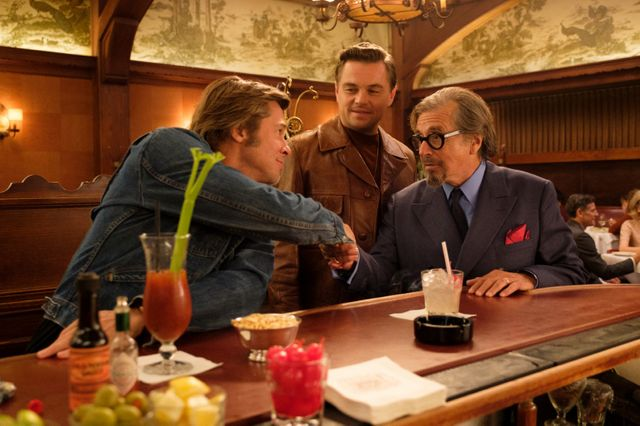 Once Upon a Time… in Hollywood : Al Pacino, Brad Pitt, Leonardo DiCaprio