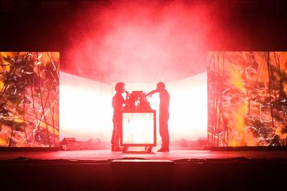 The Blaze lors d'un concert