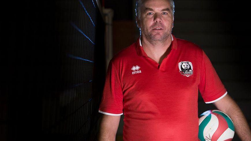 Emmanuel Dumortier et Les louves entendent bien jouer la montée en Ligue A.