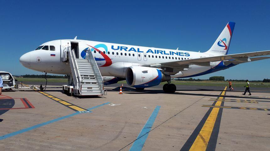 La compagnie russe Ural Airlines supprime plusieurs vols Montpellier-Moscou. programmés en septembre et octobre
