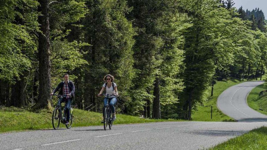 La piste cyclable de la vallée de la Bruche est aménagée depuis deux ans.
