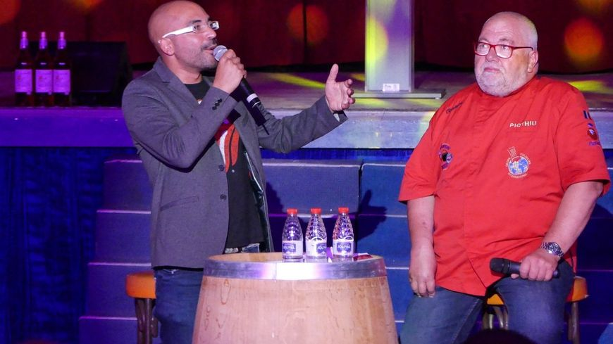 Piqthiu et Eric Morgane pour les 20 ans du Saintongeais de terre et de Mer en Juin 2019 au Vegas de Saintes.