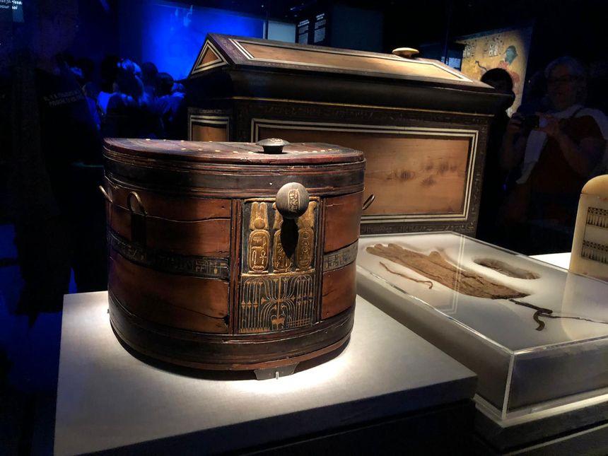 Les trésors de l'exposition Toutânkhamon