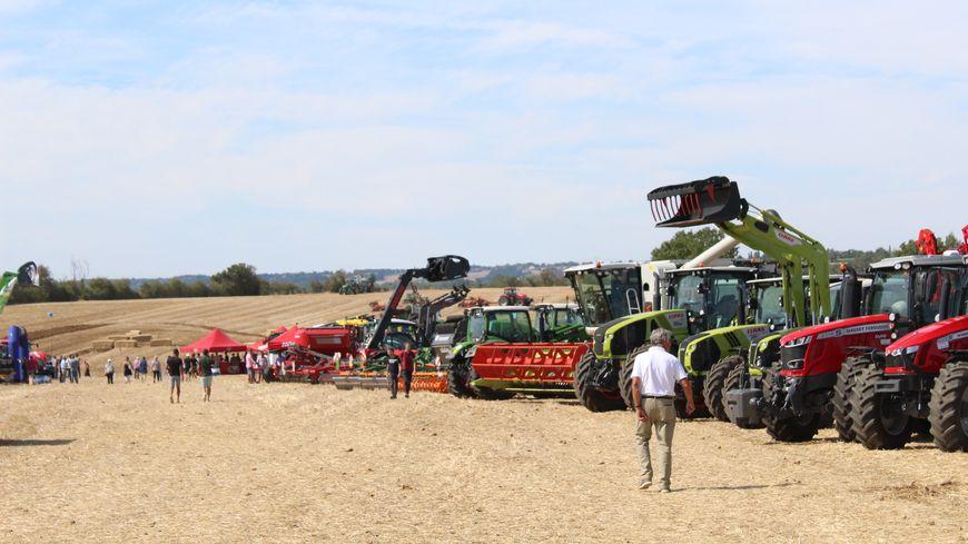 Les agriculteurs de l'Indre se rassemblent tout le week end