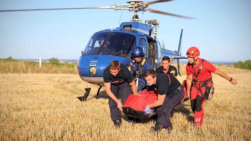 Le 14 août 2019 les pompiers du GRIMP secondés par les gendarmes de Côte-d'Or ont secouru une randonneuse à Marsannay-la-Côte