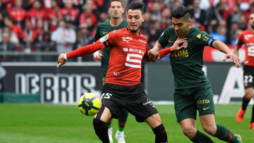 Le latéral gauche Rami Bensebaini aura porté pendant 3 saisons les couleurs du Stade Rennais