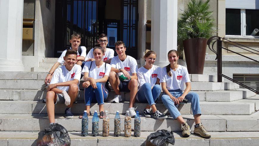 Les sept élèves du lycée du Sacré-Coeur de Privas