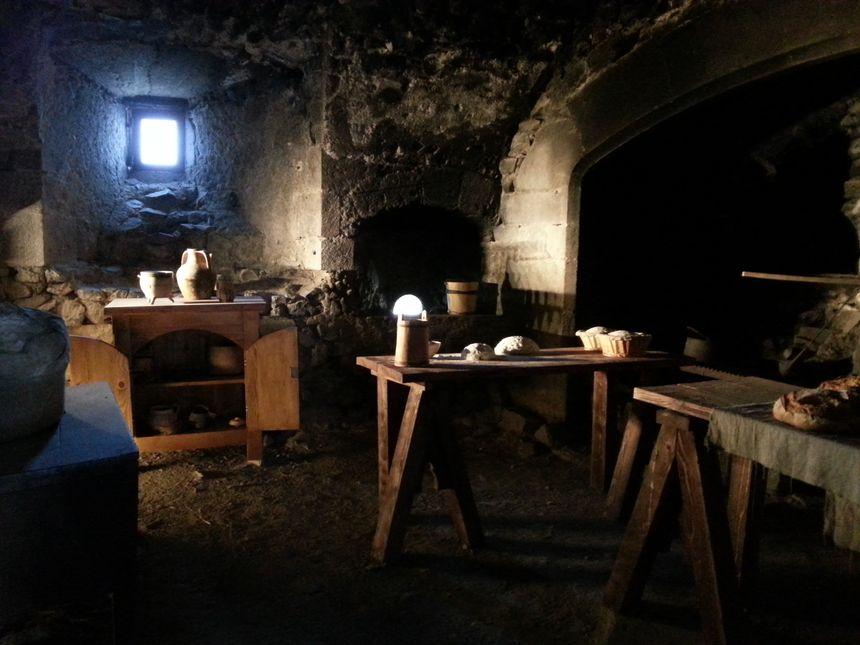 La boulangerie du château de Murol