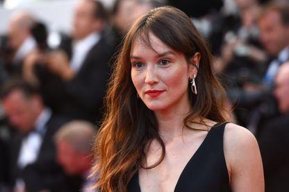 L'actrice, Anaïs Demoustier à Cannes pendant le Festival le 13 mai 2018.
