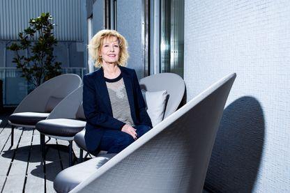 la productrice Catherine Barma en 2017 à Paris