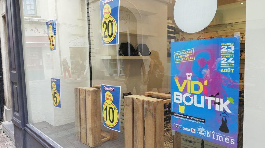 """Une cinquantaine de boutiques à Nîmes participent au """"Vid'Boutik"""""""
