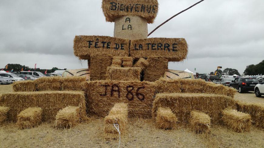 Les Jeunes Agriculteurs 86 ont passé une semaine à tout installer sur le site