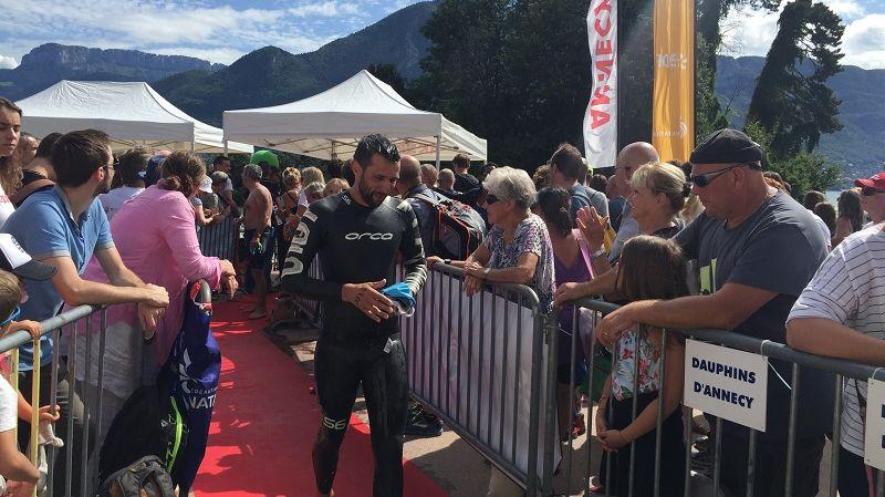 1 848 nageurs ont pris le départ de la course ce jeudi 15 août.