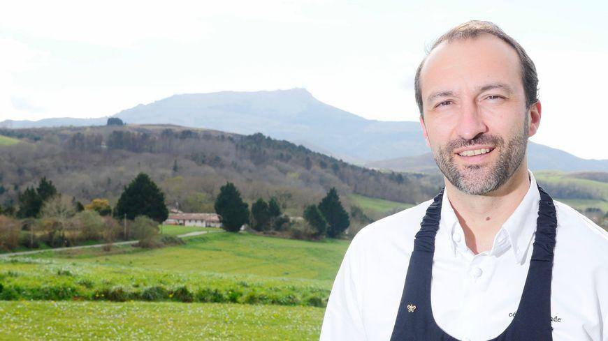 Le cuisinier Cedric Bechade